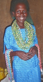 Consy Draped in Beads crop